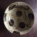 95523334 - 金子國義さんの丼〜ウサギさん、一時うつわもつくられてました