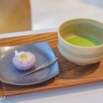 Cafe 椿 - まさり草(抹茶セット)