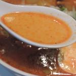 Kagurazakaryuukoutei - 激辛タンメンのスープ