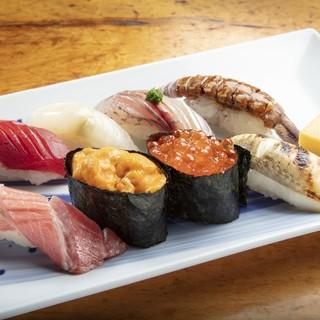 お米と海苔にもこだわりあり◎ネタとの一体感を意識した絶品寿司
