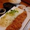 Tonkatsubisutoronikunomarukou - 料理写真:ロースかつ定食(220g)