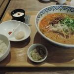 中国旬彩SORA - ランチの坦々麺セット