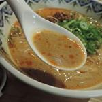 中国旬彩SORA - 坦々麺のスープ