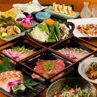 ★黒豚肉のしゃぶしゃぶが食べ放題♪3500円