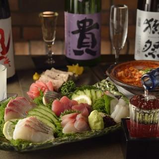 ◇週替わりおすすめ日本酒あり!◇厳選の日本酒を味わう。