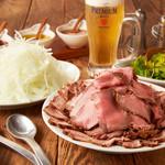 プロント - 【組数限定】ローストビーフ&ポーク食べ放題コース