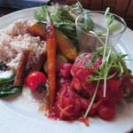 草々徒 - お野菜ごろごろヘルシーハンバーグ