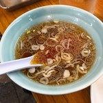 珍々軒 - 炒飯スープ