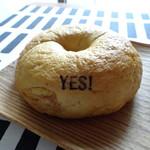 YES!BAGEL くろおび屋 - 料理写真:プレーンベーグル