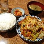 ソウルハウス - 豚肉炒め定食