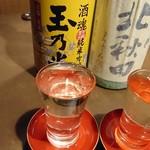 名古屋コーチン専門居酒屋 鳥銀邸 はなれ - これ全部飲んだから…この後焼肉屋の一杯目は烏龍茶になったのだ(´・ω・`)