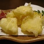 名古屋コーチン専門居酒屋 鳥銀邸 はなれ - チーズの天麩羅とかあるようでない!これおいち♡
