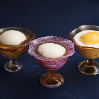 甘い誘惑・デザートとすっきりとした中国茶を食後の楽しみに…