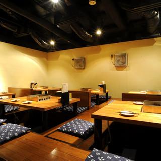 【宴会個室】ゆったり楽しむゆとりの空間