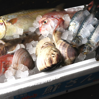 石巻港直送!その日の獲れたての魚介をいただく幸せを◎