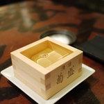 酒+蕎麦 な嘉屋 - 2011/09 枡酒
