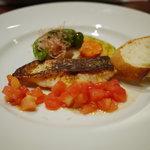 酒+蕎麦 な嘉屋 - 2011/09 スズキのオリエンタル風さっぱりトマトソース