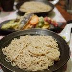 酒+蕎麦 な嘉屋 - 2011/09 コースのお蕎麦