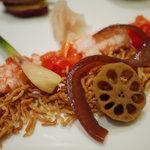 酒+蕎麦 な嘉屋 - 2011/09 コース前菜 アップ