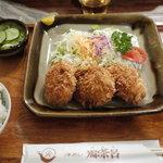 洋めし 御茶呂 - 2011/09 ヒレカツ定食