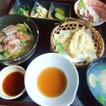 密漁船 - イワシ定食
