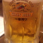 ビストロ 時代亭 - いや〜ビールうまい!