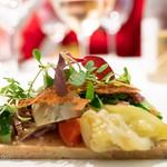 95540217 - フォアグラのテリーヌと野菜のクロッカン