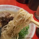 幸龍 - 細麺が美味しかった