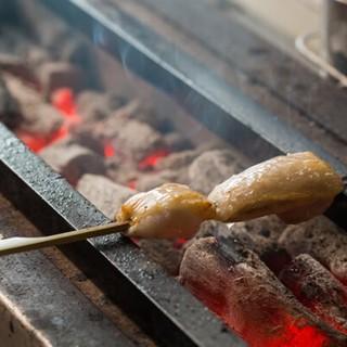 九州が誇る各地の地鶏を使用◆素材の味が活きた焼き鳥を堪能