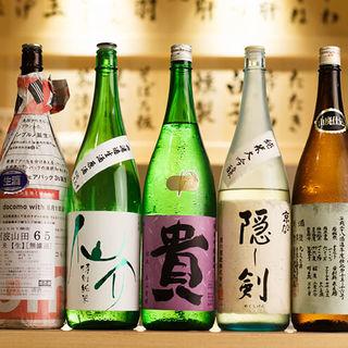 ◆全国から厳選◆焼き鳥と相性の良い銘酒を豊富に取り揃え