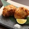 久米川  絹 - 料理写真:フグの唐揚げ