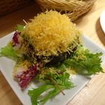 湯島ワンズラクレット チーズ料理専門店 野菜&ワイン - アボカドとミモレットのファルシ