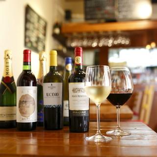 """◆ワイン充実◇世界のワインや""""カタシモワイン""""まで!"""