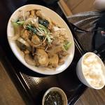 95547518 - 豆腐チャンプルー¥1000