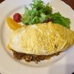 95547888 - オムライス、卵の表面の見た目が家レベル(^^;
