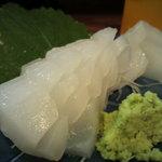 9555099 - 水イカの刺身。