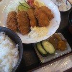 9555895 - 鯵フライ定食 1,100円