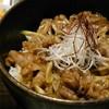 和牛の匠 銀座 小六 - 料理写真:薄切り牛カルビ丼