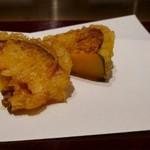 天麩羅とお蕎麦 三輪 - 鈴カボチャ