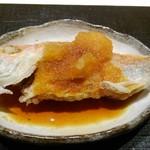 天麩羅とお蕎麦 三輪 - 甘鯛一夜干し