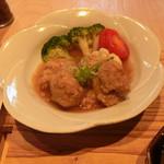まるこ食堂 - 料理写真:鶏のつくね定食