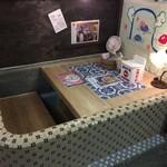 藝術喫茶 清水温泉 - ここ、立派な席ですからね