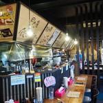 らぁ麺屋 大明神 - 内観写真:店内風景