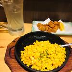 一軒め酒場 - レモンサワー 205円とツマミ達