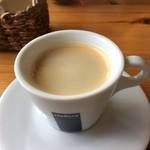 ガレット&カフェ クランプーズ - ホットコーヒー