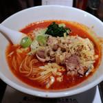 塩生姜らー麺専門店 MANNISH - 【限定】tomato' c ramen(850円)