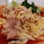 塩生姜らー麺専門店 MANNISH - 【限定】tomato 'c ramen(850円)