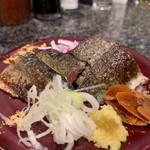 回転寿司 魚浜 - さんま塩たたき