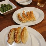 中華食堂 一番館 - セットの餃子達