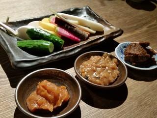 味噌鐡 カギロイ - 産直農家さんの新鮮有機野菜、嘗め味噌